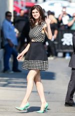 ALEXANDRA DADDARIO Arrives at Jimmy Kimmel Live in Hollywood 05/18/2015