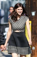ALEXANDRA DADDARIO Arrives at Jimmy Kimmel Live in Hollywood 05/18/2015