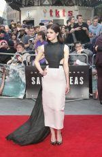 ALEXANDRA DADDARIO at San Andreas Premiere in London