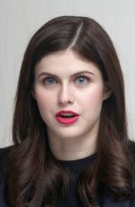 ALEXANDRA DADDARIO at San Andreas Press Conference in Los Angeles