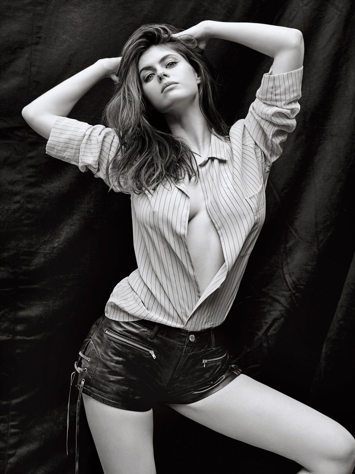 ALEXANDRA DADDARIO in Details Magazine, May 2015 Issue