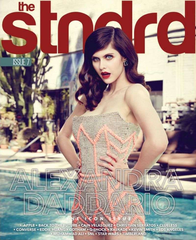 ALEXANDRA DADDARIO on the Cover of Stndrd Magazine, Issue #7