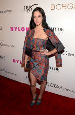 ALEXIS KNAPP at Nylon Young Hollywood Party in Hollywood