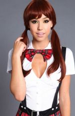ALEXIS REN in Class Nerd Costume Photoshoot by Leg Avenue