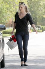 ALI LARTER in Jeans Out in Brentwood 05/12/2015