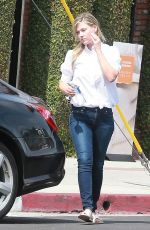 ALI LARTER in Jeans Out Shopping in Los Angeles 05/26/2015