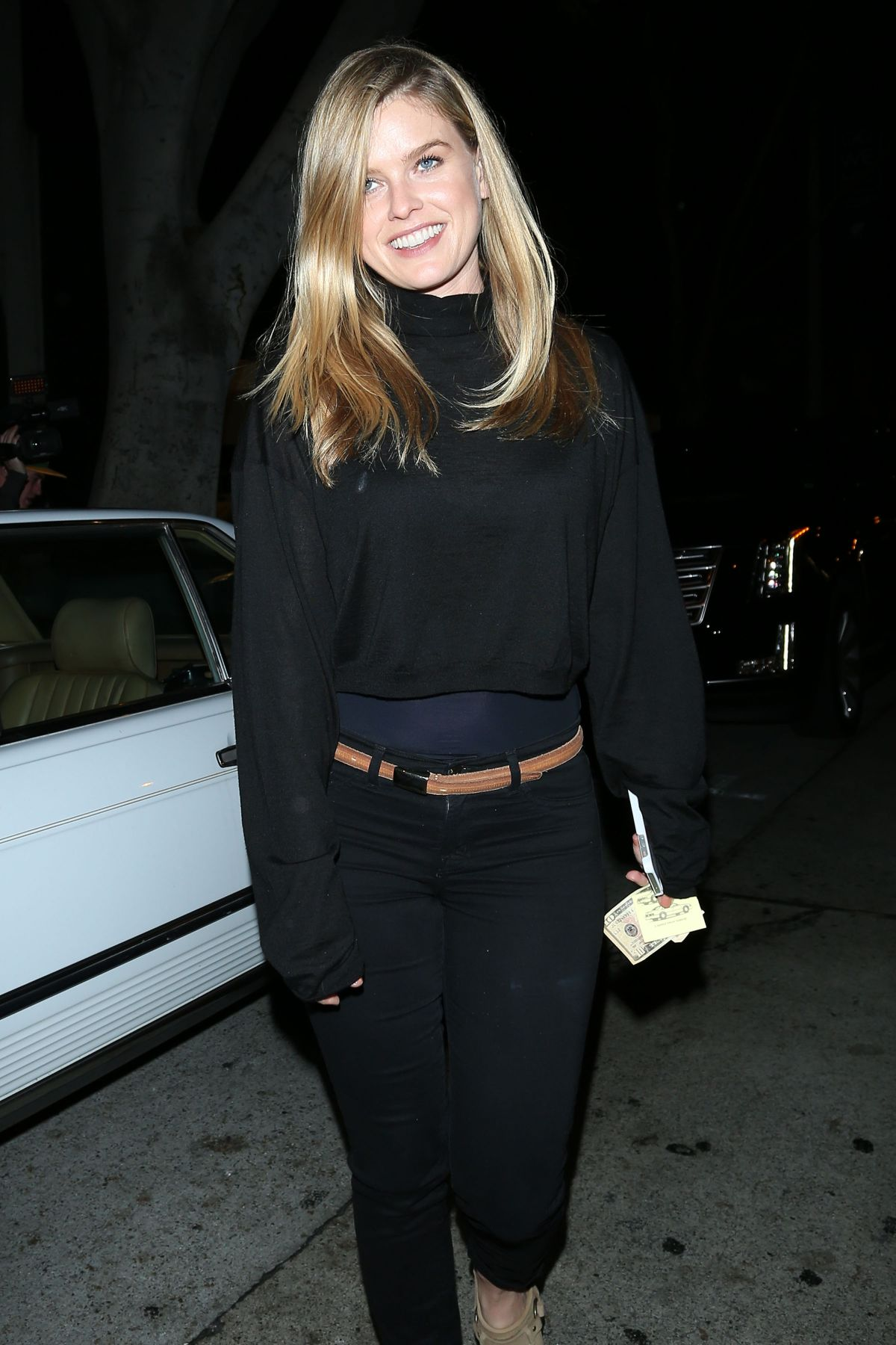ALICE EVE Night Out in West Hollywood 05/05/2015
