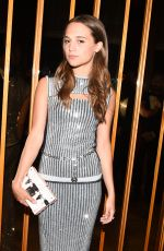ALICIA VIKANDER at MET Gala After Party in New York