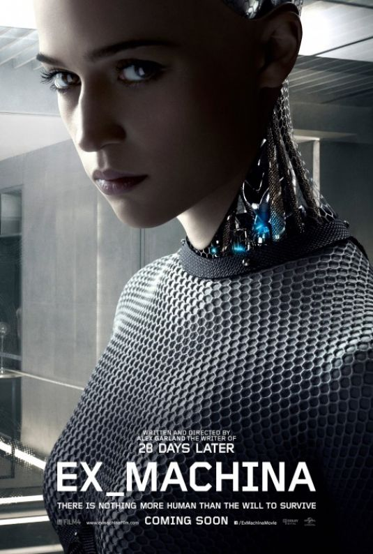 ALICIA VIKANDER - Ex Machina Poster