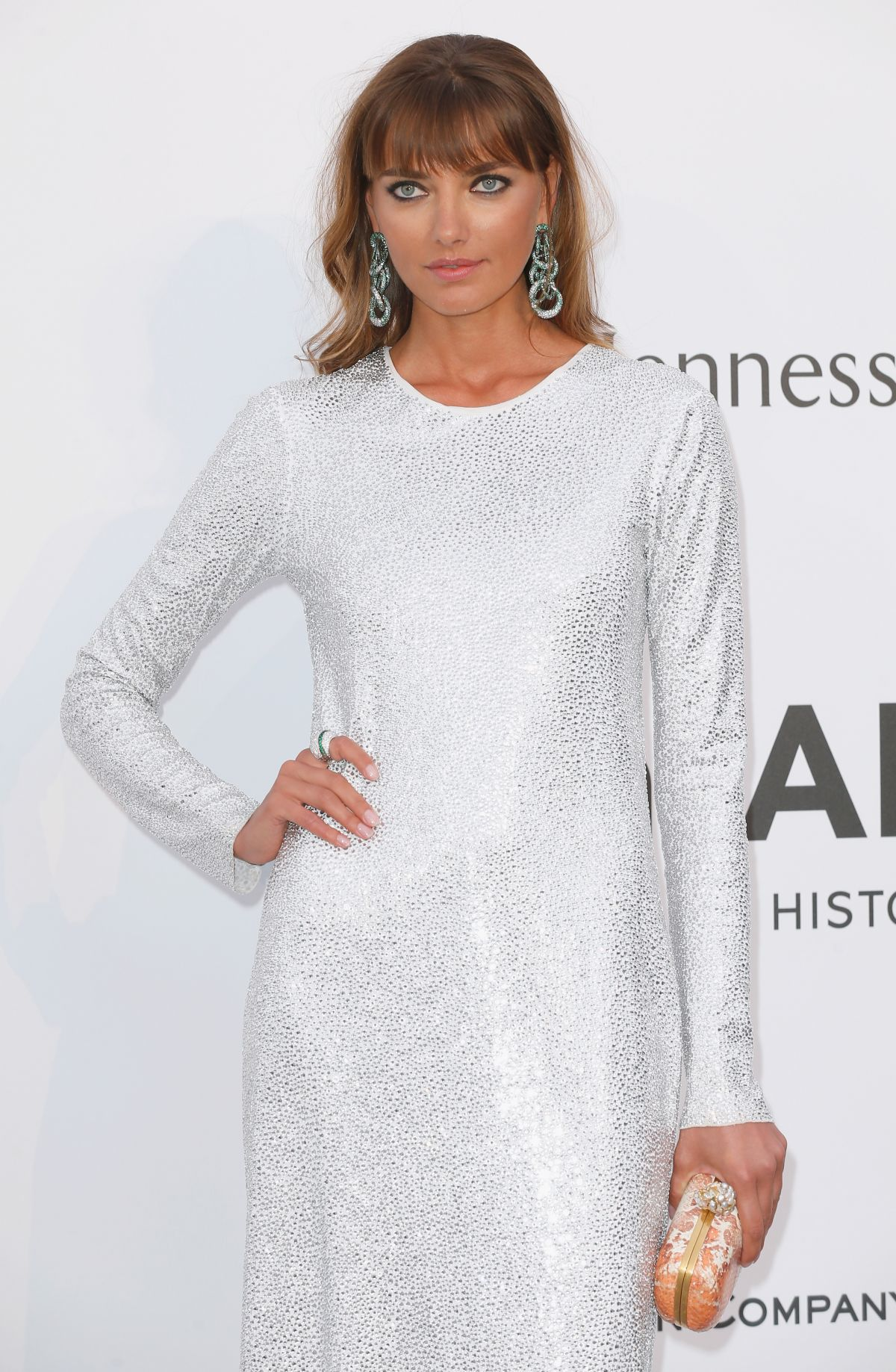 ALINA BAIKOVA at Amfar's 2015 Cinema Against Aids Gala in Cap d'Antibes