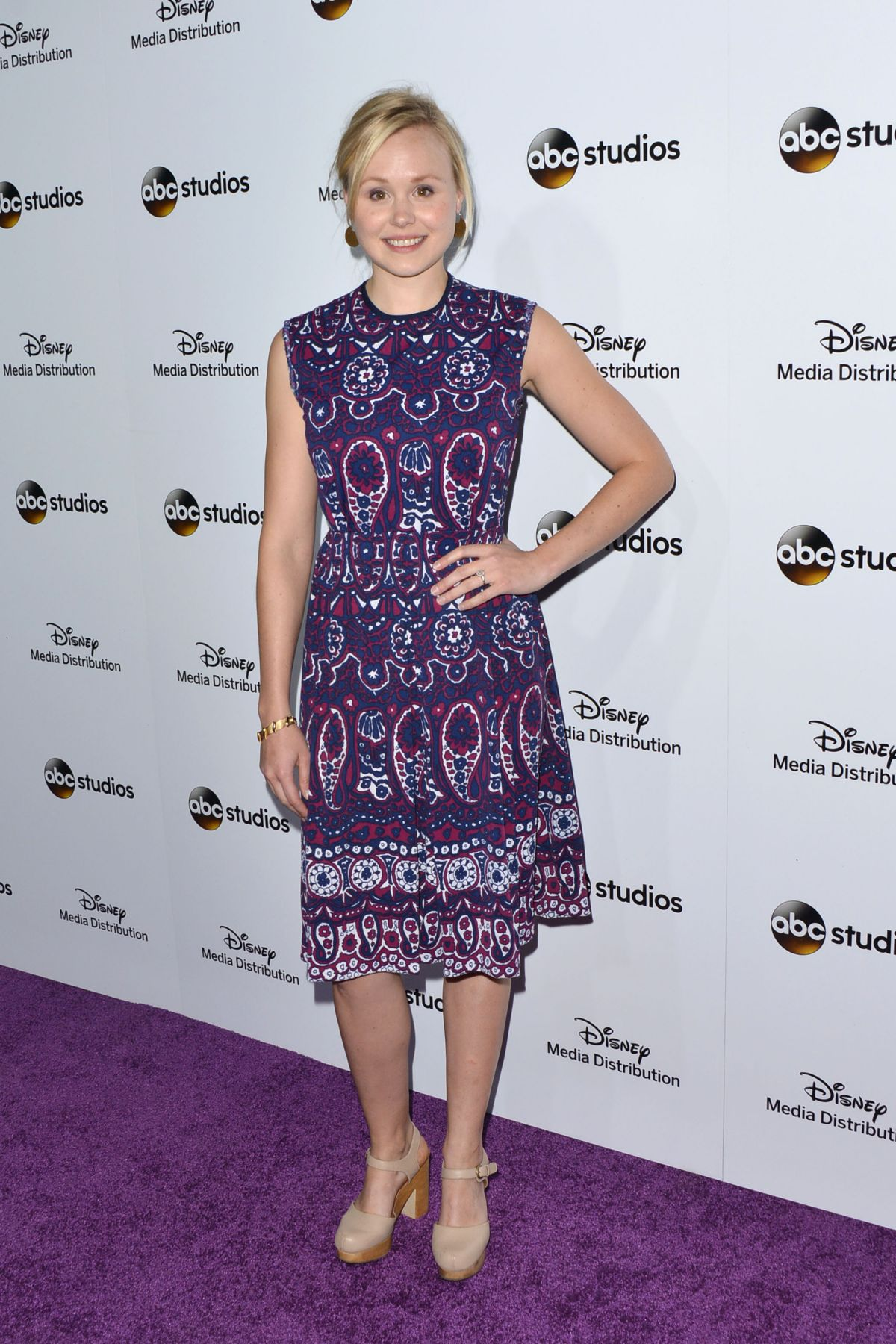 ALISON PILL at Disney Media Distribution 2015 International Upfront in Burbank