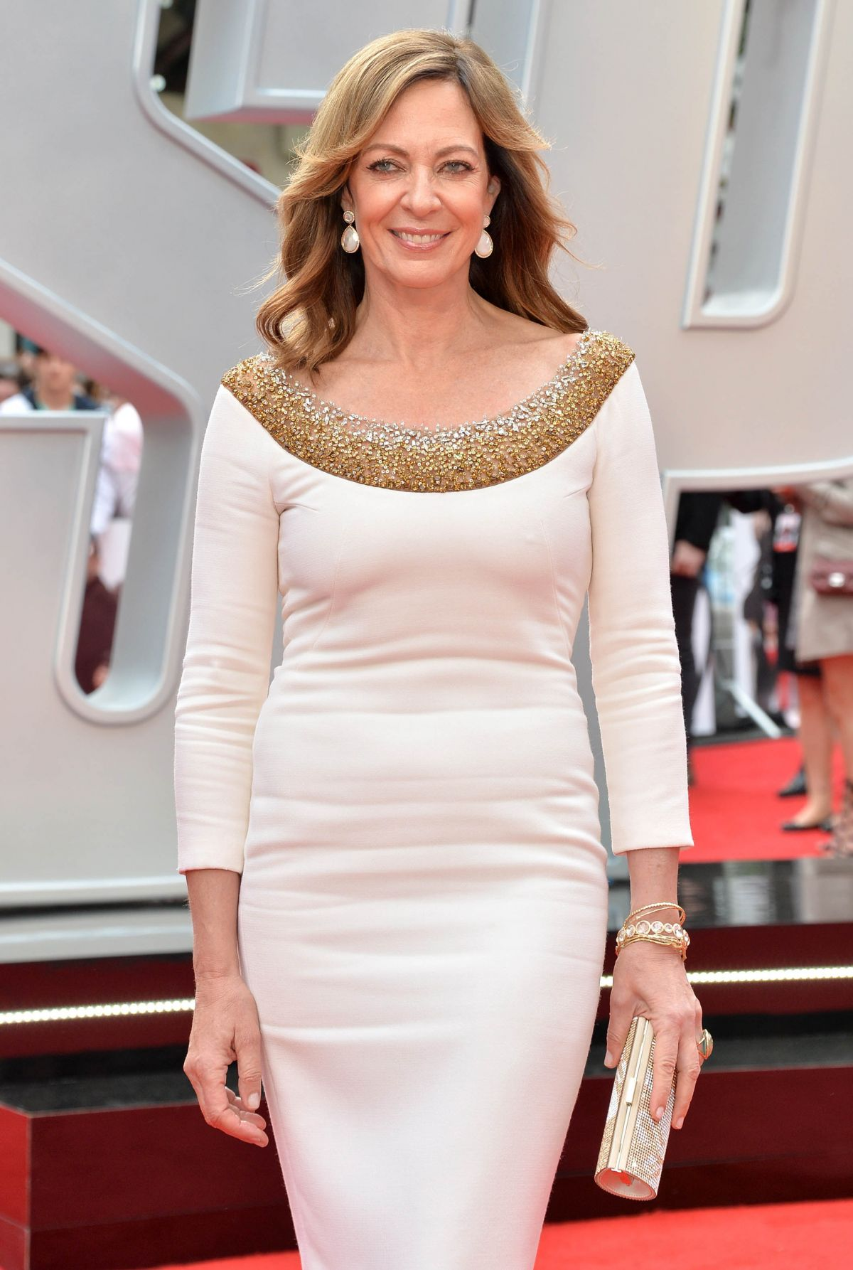 ALLISON JANNEY at Spy Premiere in London