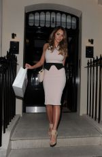 AMY CHILDS Leaves very.co.uk VIP Summer Party in London