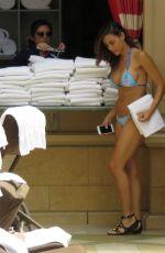 ANA CHERI in Bikini at a Pool in Las Vegas 05/24/2015