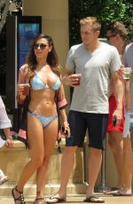 ANA CHERI in Bikini at a Pool in Las Vegas 05/24/2015