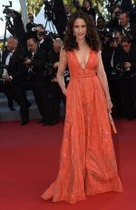 ANDIE MACDOWELL at Inside Out Premiere at Cannes Film Festival