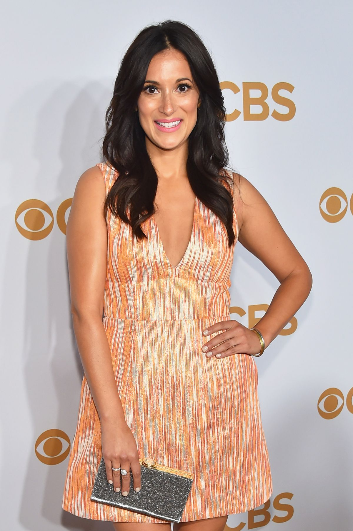 ANGELIQUE CABRAL at 2015 CBS Upfront in New York