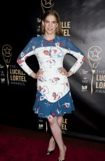 ANNA CHLUMSKY at 30th Annual Lucille Lortel Awards in New York