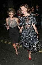 ANNA FRIEL Arrives at Opening Night Performance at Royal Opera House in London