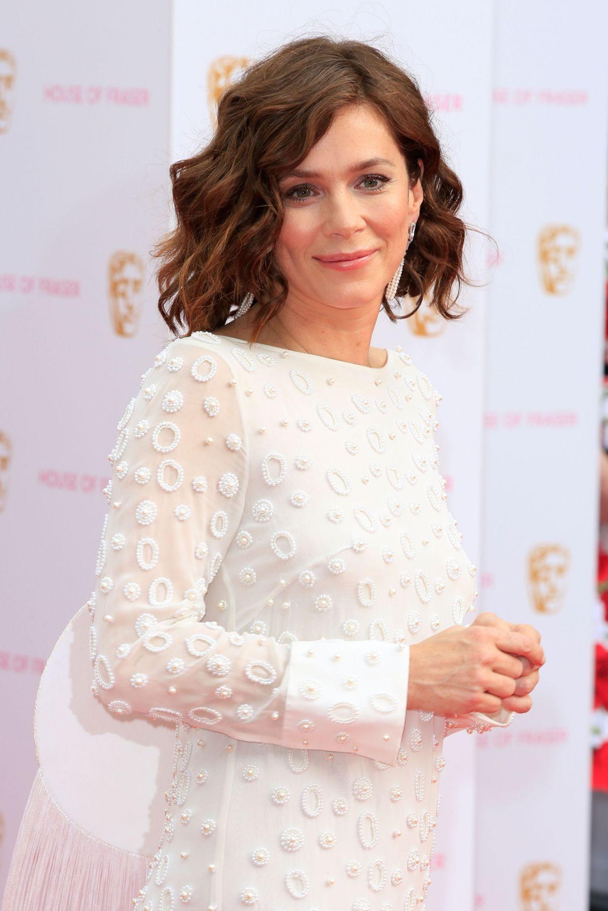 ANNA FRIEL at BAFTA 2015 Awards in London