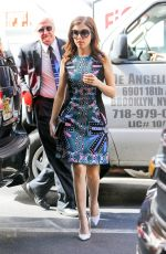 ANNA KENDRICK at The Today Show in New York 05/13/2015