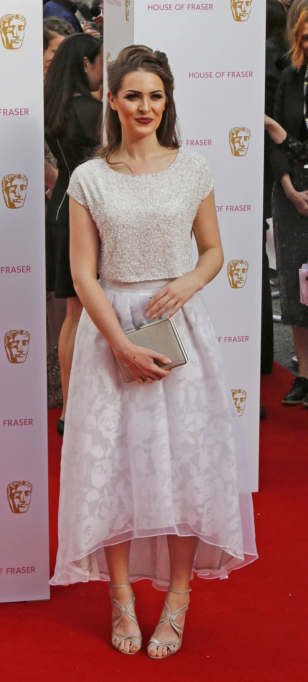 ANNA PASSEY at BAFTA 2015 Awards in London