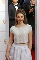 ANNA PASSEY at BAFTA 2015 Awards in London