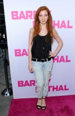 ANNALISE BASSO at Barely Lethal Premiere in Los Angeles