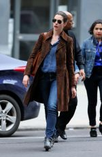 ANNE HATHAWAY Out and About in New York 005/09/2015