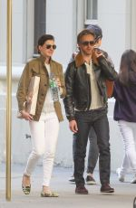 ANNE HATHAWAY Out and About in New York 05/14/2015
