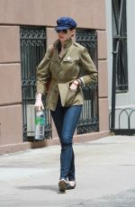 ANNE HATHAWAY Out in New York 05/20/2015