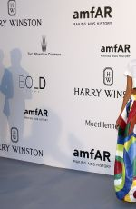 APRIL LOVE GEARY at Amfar's 2015 Cinema Against Aids Gala in Cap d'Antibes