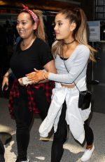 ARIANA GRANDE at LAX Airport in Los Angeles 05/12/2015