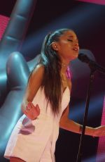 ARIANA GRANDE at The Voice of Italy, Finale Season