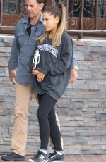 ARIANA GRANDE Out and About in West Hollywood 05/06/2015