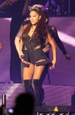 ARIANA GRANDE Performs at The Honeymoon Tour in Milan