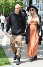 ASHLEE SIMPSON at Bel Bambini in Los Angeles 05/21/2015