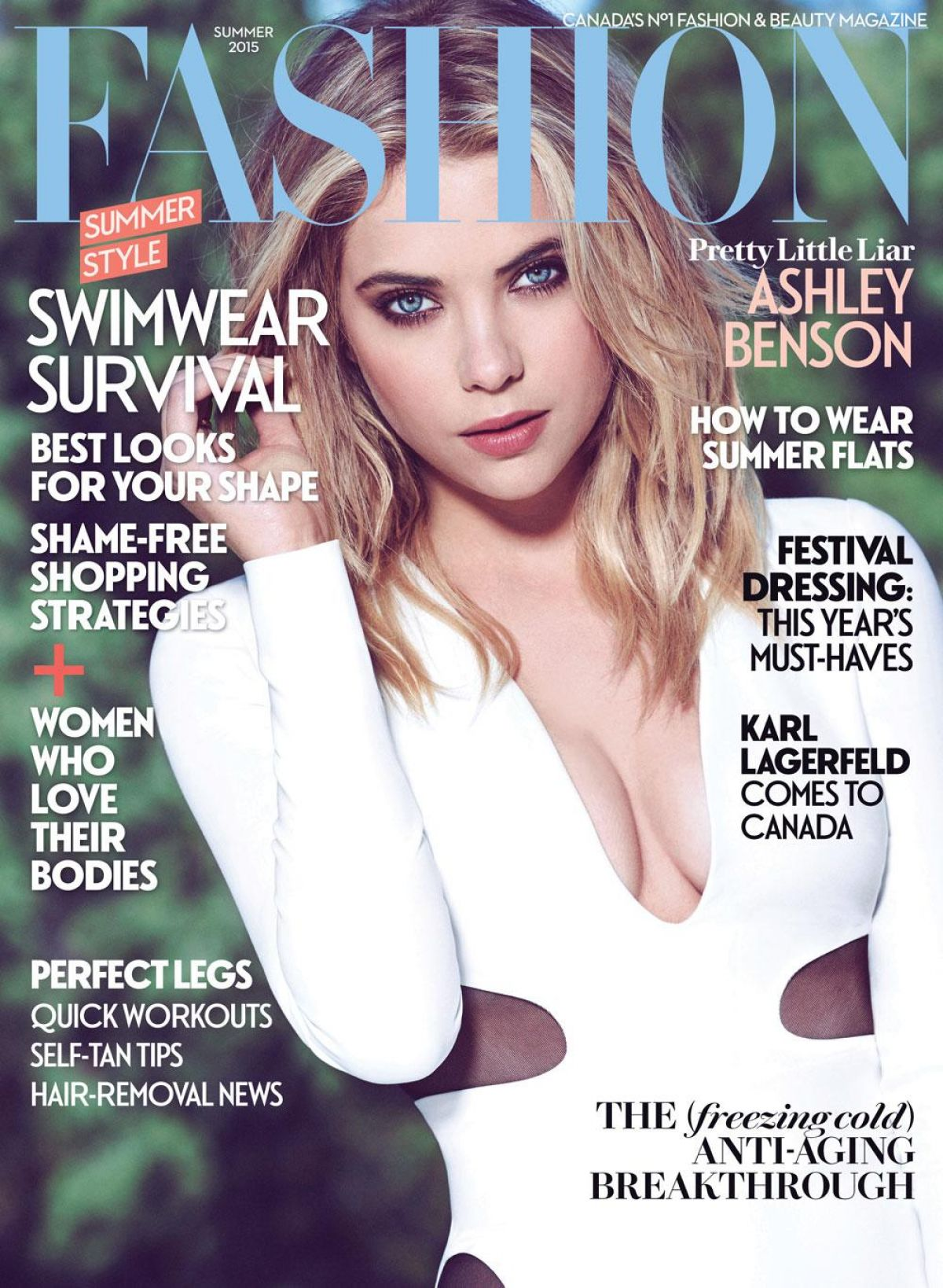 Ashley Benson In Fashion Magazine Summer 2015 Issue