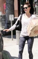 ASHLEY GREENE Out Shopping in Los Angeles 05/19/2015