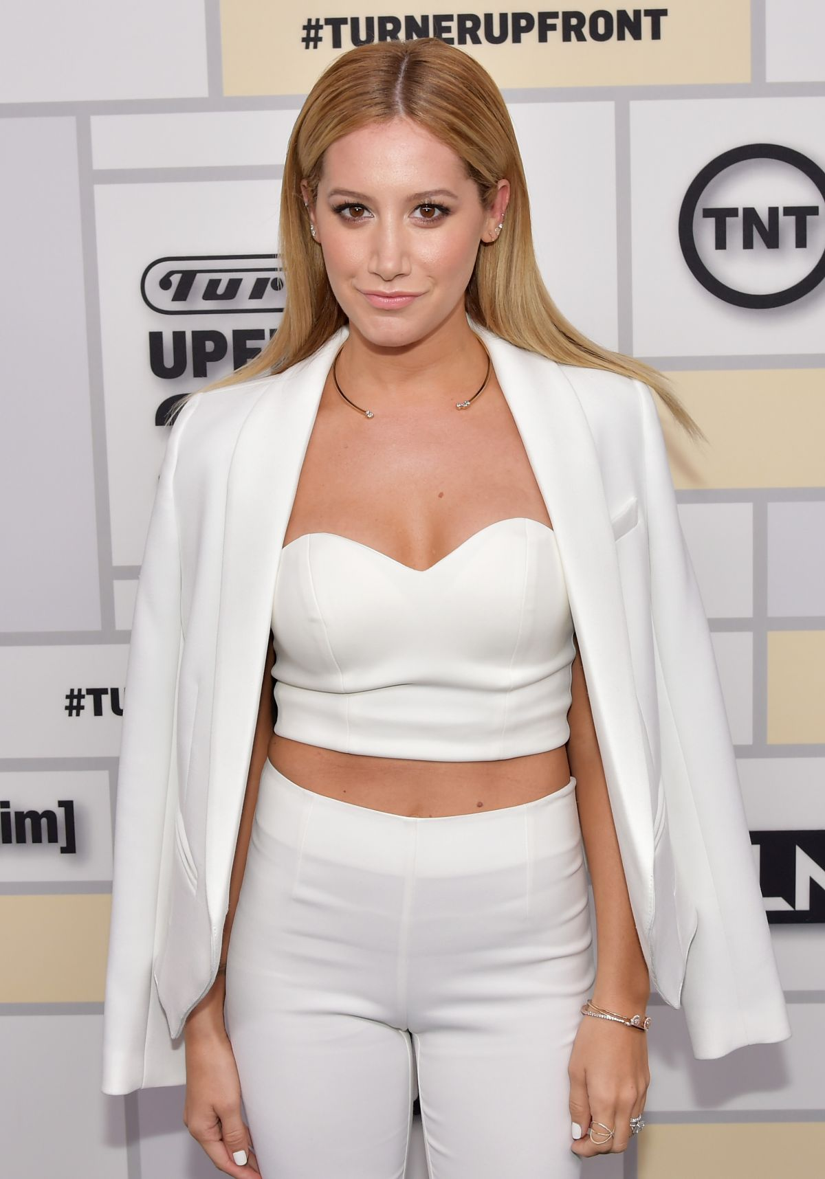 ASHLEY TISDALE at Turner Upfront 2015 in New York
