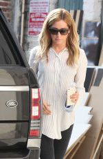 ASHLEY TISDALE Leaves a Salon in Los Angeles