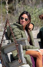 AUBREY PLAZA and ZOEY DEUTCH on the Set of Dirty Grandpa at Tybee Island 05/02/2015