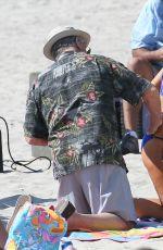 AUBREY PLAZA in Bikini on the Set of Dirty Grandpa in Georgia 05/04/2015