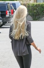 AVA SAMBORA Leaves a Nails Salon in Calabasas 05/16/2015