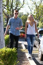 AVA SAMBORA Out and About in Calabasas 05/28/2015