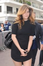 BARBARA PALVIN Arrives at Hotel Martinez in Cannes 05/21/2015