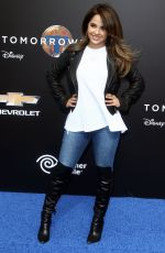 BECKY G at Tomorrowland Premiere in Anaheim