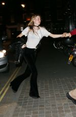 BEHATI PRINSLOO at Chiltern Firehouse in London 05/26/2015