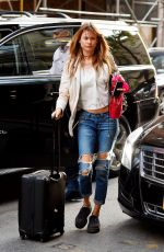 BEHATI PRINSLOO in Reipped Jeans Out in New York 05/03/2015