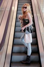 BELLA THORNE Arrives at LAX Airport in Los Angeles 05/09/2015